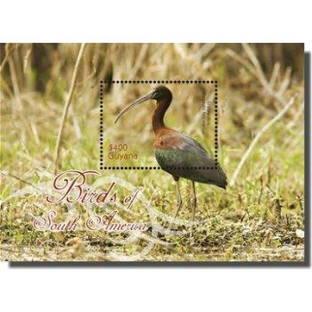 Braunsichler - Briefmarken-Block postfrisch, Guyana