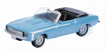 Modellauto:Chevrolet Camaro SS Cabrio, blau(Schuco, 1:87)