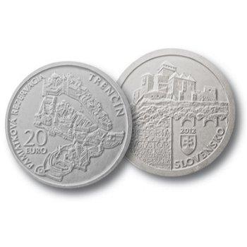 "20-Euro-Silbermünze ""Trentschin"", Slowakei"
