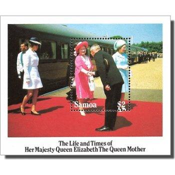 85. Geburtstag von Königinmutter Elisabeth – Briefmarken-Block postfrisch, Katalog-Nr. 569, Block 35