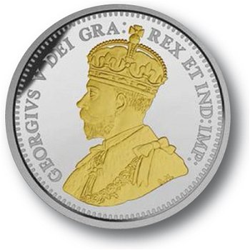 Canadischer Nickel, Nr. 1 Ahorn-Ast-Design, 5 Cent Münze, Canada