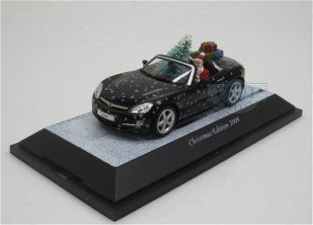Modellauto:Opel GT Cabrio - Weihnachten 2009 -(Schuco, 1:43)