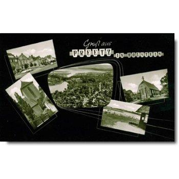 """2308 Preetz - Postkarte """"Stadtansicht"""""""
