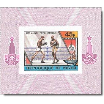 Vorolympisches Jahr - 4 Luxusblocks postfrisch, Katalog-Nr. 673-676, Niger