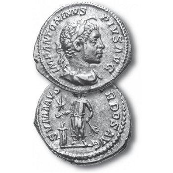 Elagabal, Silbermünze Römische Kaiserzeit