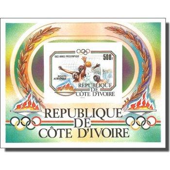 Olympische Sommerspiele 1984, Los Angeles - Briefmarken-Block ungezähnt postfrisch, Katalog-Nr. 791