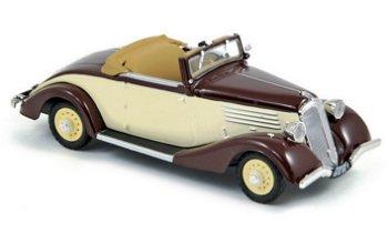 Modellauto:Renault Type YZ 4 Vivasport von 1934, braun/beige(Norev, 1:43)