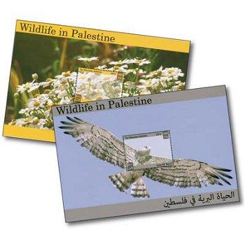 Tierwelt - 2 Briefmarken-Blocks postfrisch, Palästina