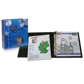 Top-Set, Münzalbum für 2€-Münzen Bundesländer inkl. 10 Blatt, Safe 7821