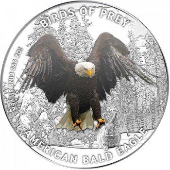 Weißkopfseeadler - Silbermünze, Niue