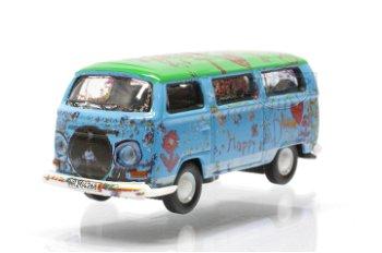 Modellauto:VW T2 Bus - Ludolfs -(Schuco, 1:87)