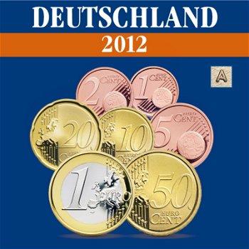 Deutschland - Kursmünzensatz 2012, Prägezeichen A