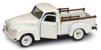 Modellauto:GMC Pick Up von 1950, weiß(Yat Ming, 1:18)