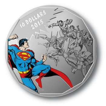 Superman, 10 Dollar Silbermünze, Canada