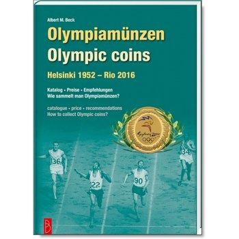 Olympiamünzen-Katalog, Helsinki 1952 - Rio 2016, 1. Auflage 2016, Battenberg Verlag