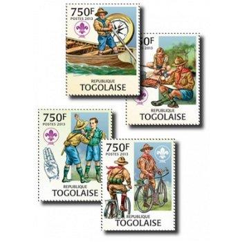 Pfadfinder - 4 Briefmarken postfrisch, Togo