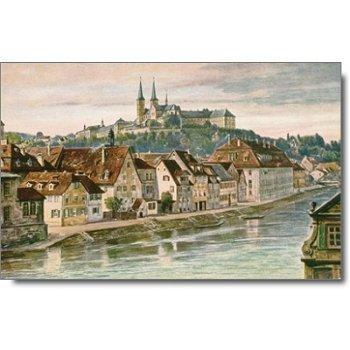 """8600 Bamberg - Posktarte """"Stadtansicht"""""""