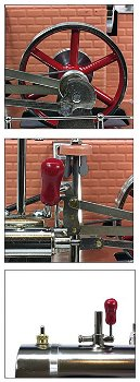 """Dampfmodell:Dampfmaschine""""Jensen No. 75""""(Jensen)"""