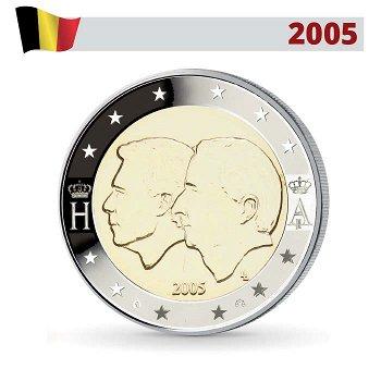 2 Euro Münze 2005, Wirtschaftsunion mit Luxemburg, Belgien