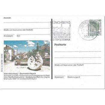 """8660 Münchberg - Bildpostkarte """"Tag der Briefmarke 1996"""""""
