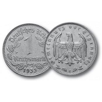 Adler, 1 Reichsmark, Drittes Reich