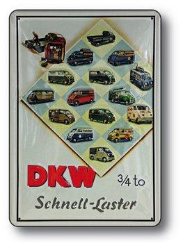 Blechschild:DKW-Schnell-Laster(20 x 30 cm)