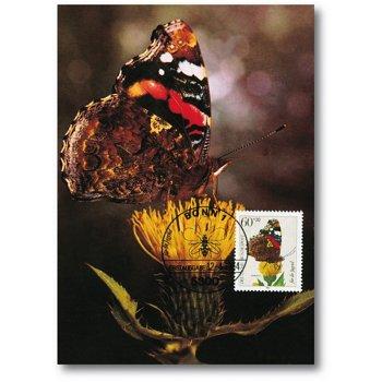 Schmetterlinge - Maximumkarte gestempelt, Bundesrepublik Deutschland
