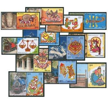 Internationale Briefmarkenausstellung INDIPEX 2011, Neu-Delhi: Tierkreiszeichen - Briefmarken postfr