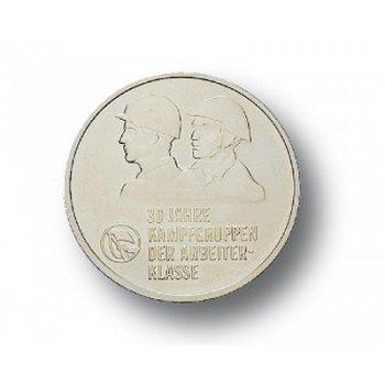 10-Mark-Münze 1983, 30 Jahre Kampfgruppen, DDR