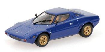 Modellauto:Lancia Stratos von 1974, blau(Minichamps, 1:43)