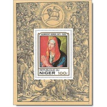 450. Todestag von Albrecht Dürer - Luxusblock postfrisch, Katalog-Nr. 651, Niger