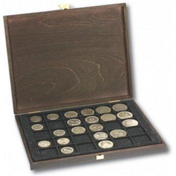 Lindner Echtholzkassette für Münzen Deutsches Kaiserreich, 2491o-S2148CE