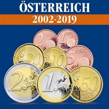 Österreich - Kursmünzensätze alle Jahrgänge 2002-2019