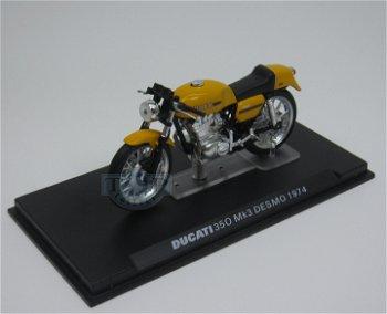 Modell-Motorrad:Ducati 350 MK 3 Desmo von 1974(IXO, 1:24)