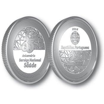 Nationales Gesundheitswesen, Kupfer-Nickel-Münze Portugal