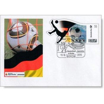 Fußball-Weltmeisterschaft - Plus-Ganzsache, Deutschland