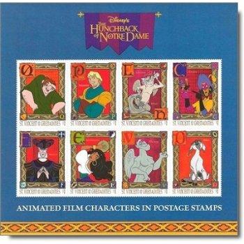 Der Glöckner von Notre Dame - Briefmarken-Block postfrisch, St. Vincent und Grenadinen