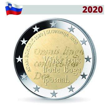 500. Geburtstag Adam Bohoric - 2 Euro Gedenkmünze, Slowenien