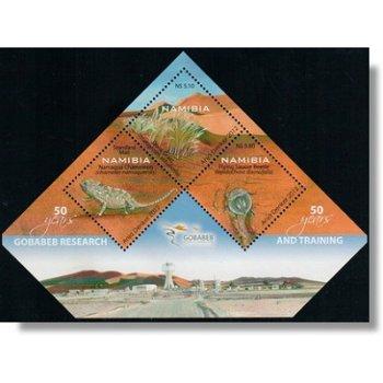 50 Jahre Forschungs- und Ausbildungsstation Gobabeb - Briefmarken-Block postfrisch, Katalog-Nr. 1423