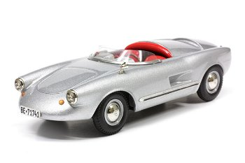 Modellauto:Enzmann Spyder 506 von 1958, silber(Emmy Models, 1:43)
