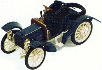 Modellauto:Mercedes Simplex von 1902, blau(IXO Museum, 1:43)