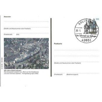 """5650 Solingen - Bildpostkarte """"625 Jahre Stadt Solingen"""""""