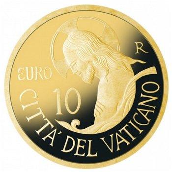 Die Taufe, 10 Euro Goldmünze 2016, Vatikan