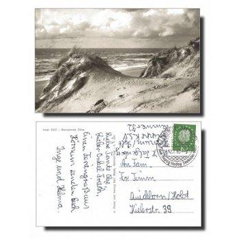 "2284 Hörnum - Postkarte ""Wandernde Düne"""