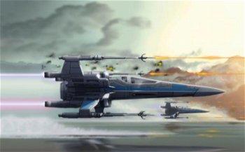 Bausatz:Resistance X-Wing FigtherStar Wars - Episode VII(Revell, 1:78)
