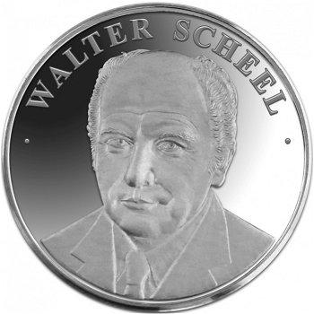Walter Scheel, Medaille