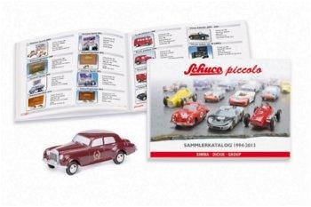 Modellauto-Set:Rolls-Royce Silver Cloudmit Sammlerkatalog 1994-2013(Schuco/Piccolo, 1:90)