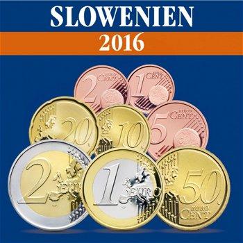 Slowenien - Kursmünzensatz 2016