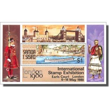 Internationale Briefmarkenausstellung LONDON 1980 – Briefmarken-Block postfrisch, Katalog-Nr. 433, B