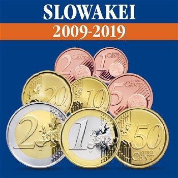 Slowakei - Kursmünzensätze alle Jahrgänge 2009-2019